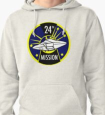 Lost in Space 24th Mission colony patch  Pullover Hoodie