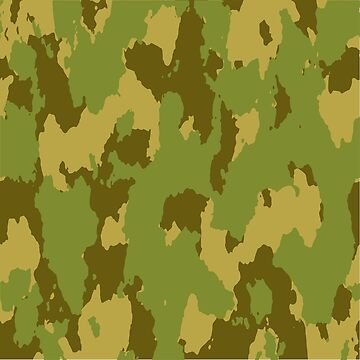 Army Camouflage Pattern – Forest Green by poisondesign