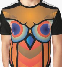 cool owls and cool design print  Graphic T-Shirt