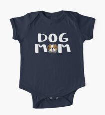 Super Cute Dog Mom One Piece - Short Sleeve