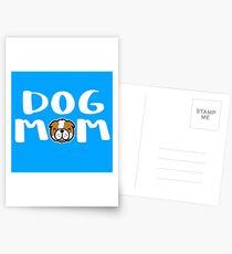 Super Cute Dog Mom Postcards