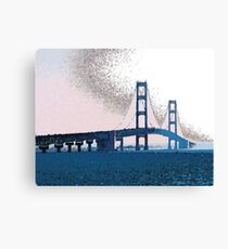 Haze in the Straits Canvas Print