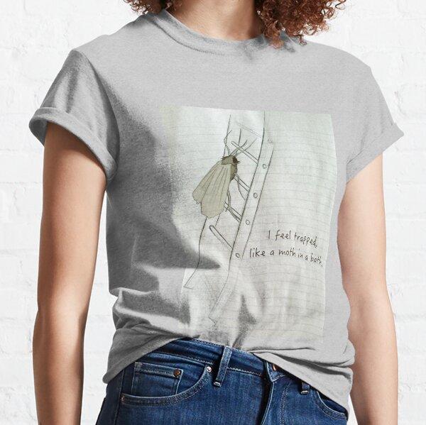 A Moth In A Bath Classic T-Shirt