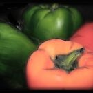 Vegitable - Peppers by Cheri Perry