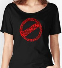 Nothing About Us Without Us Women's Relaxed Fit T-Shirt