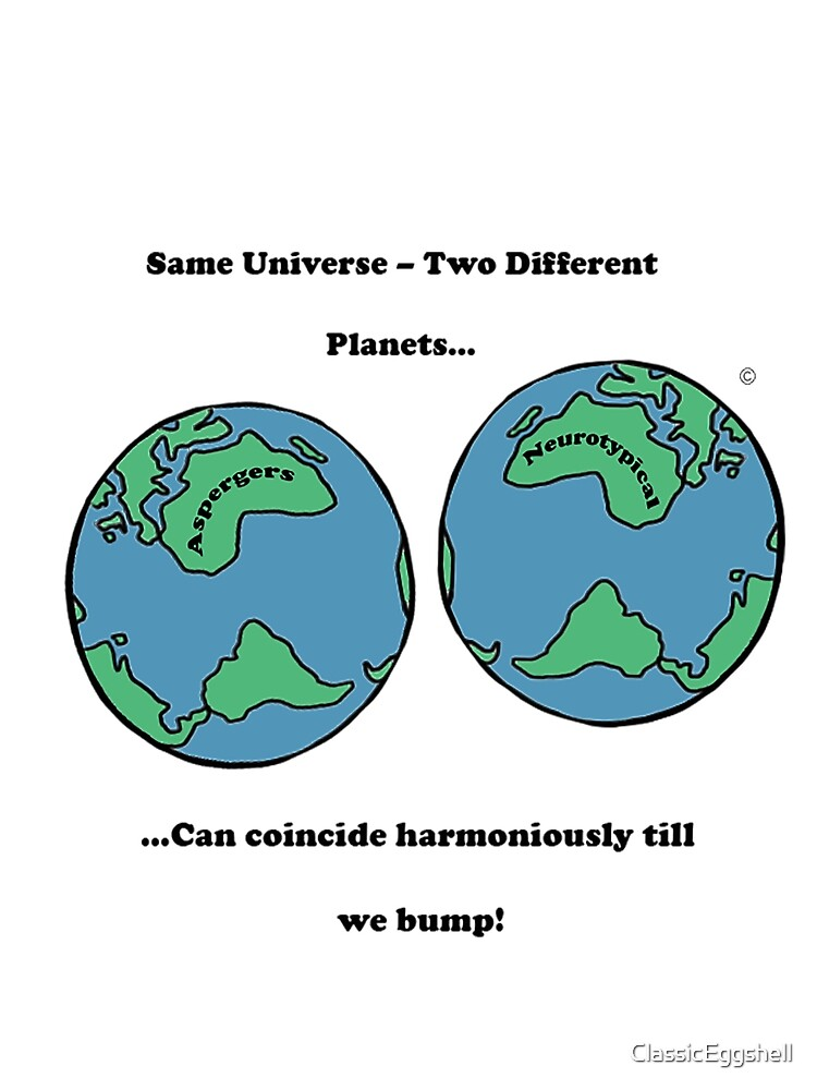 Same Planet - Different Worlds 3# by ClassicEggshell