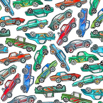 Toy Car Pile Up by micklyn