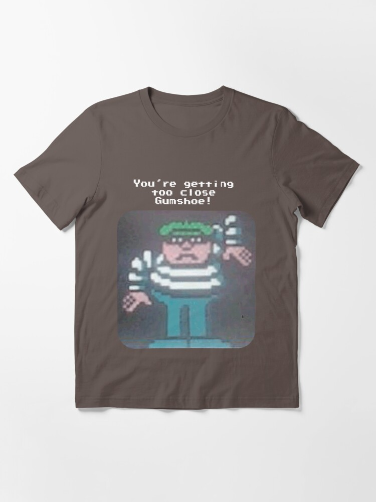 Alternate view of You're Getting Too Close Gumshoe! Essential T-Shirt