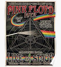 Pink Floyd - Carnegie Hall Framed Print Poster