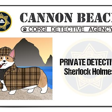 CBCDA - Sherlock Holmes ID by PortlandCorgi