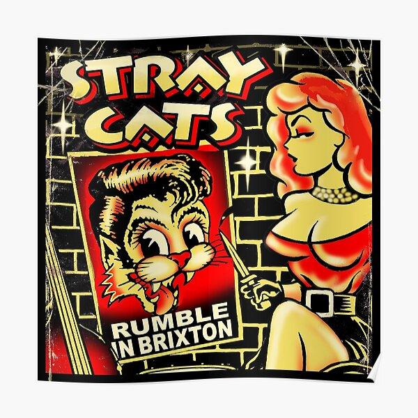 Stray Cats, Brian Setzer Poster