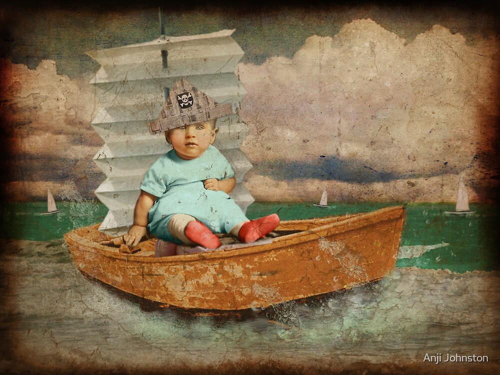 Thursday's Child Has Far To Go... by Anji Johnston