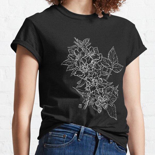 Blackberry - White Line Classic T-Shirt