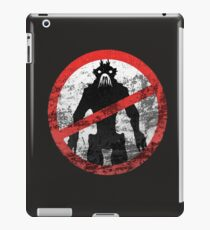 District 9 Icon (Weatherwash) iPad Case/Skin