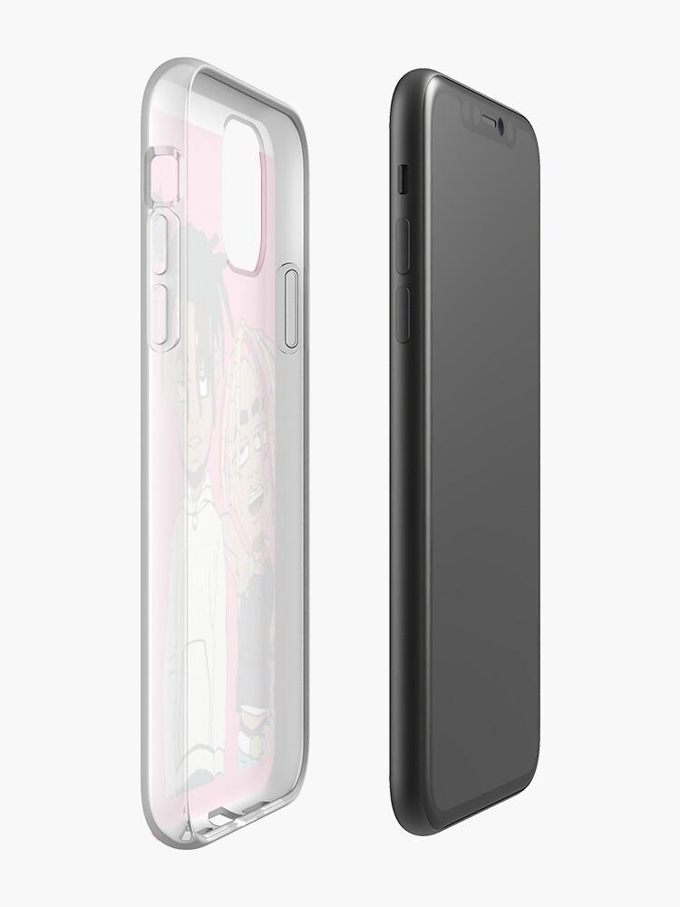 Coque iPhone «Smokepurpp et Lil Pump», par CMartin19