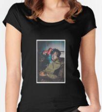Camiseta entallada de cuello redondo Smokepurpp