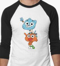 Gumball and Darwin Men's Baseball ¾ T-Shirt