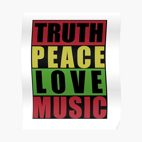 Bob Marley Quotes Poster