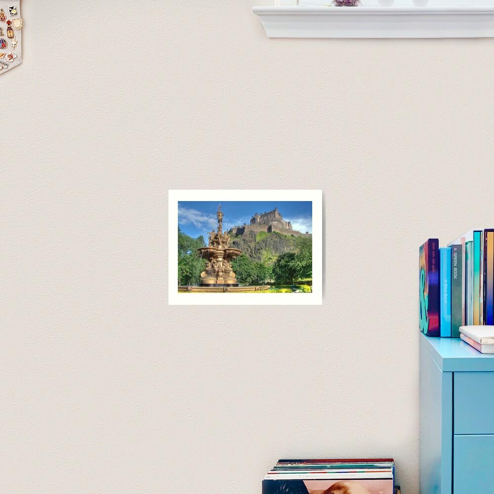 Edinburgh Castle , Scotland Art Print
