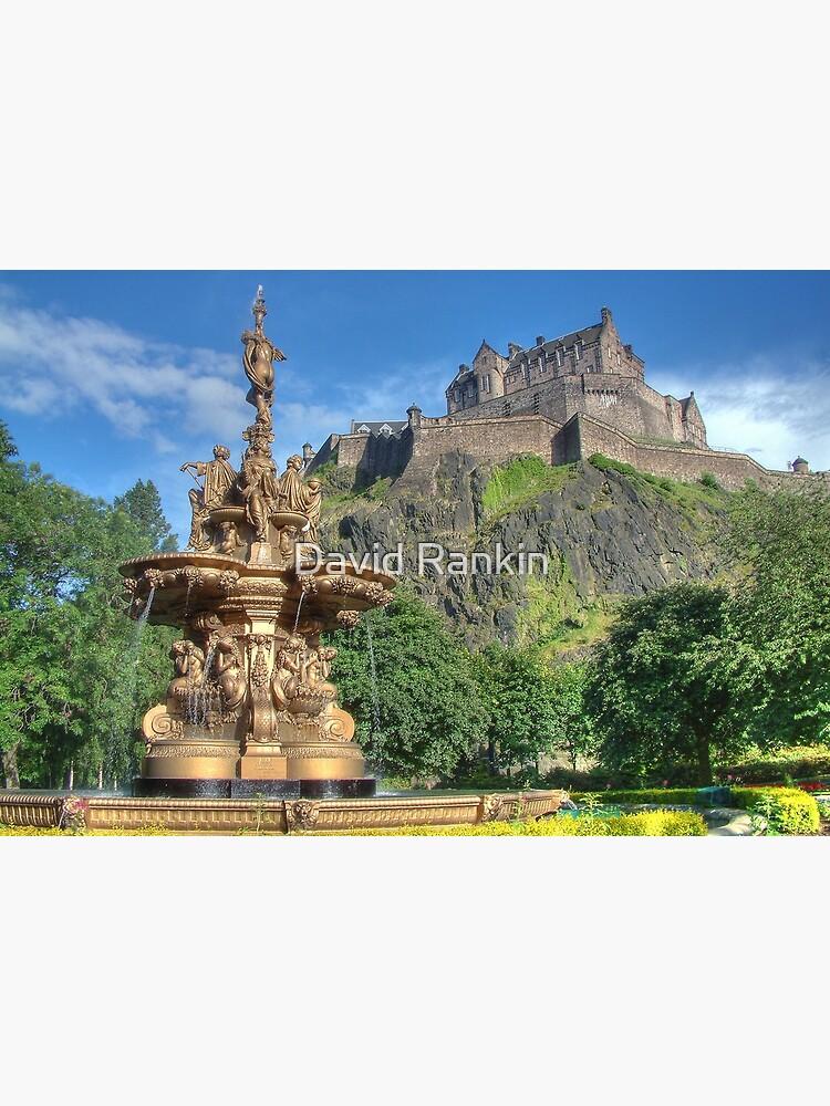 Edinburgh Castle , Scotland by goldyart