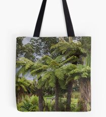 Tasmanian Tree Ferns Tote Bag