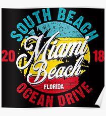 Miami Beach Spring Summer 2018 Poster
