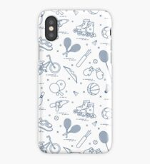 Equipment for sports activities for children. iPhone Case/Skin