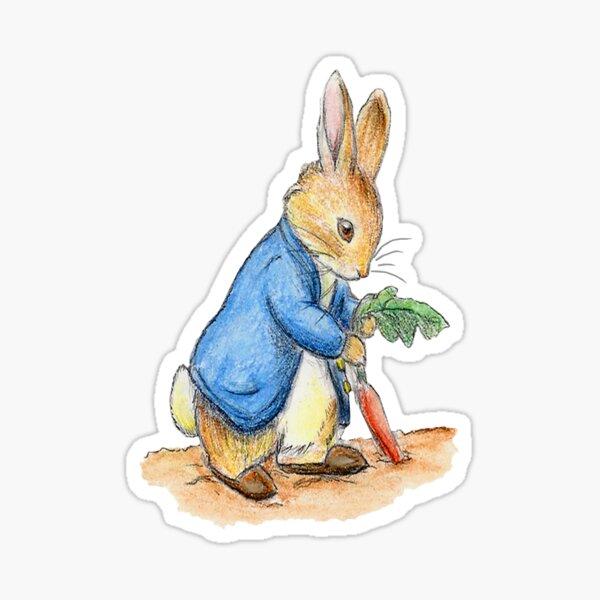 Nursery Characters, Peter Rabbit, Beatrix Potter. Sticker