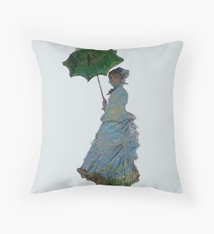 Mme. Monet Throw Pillow
