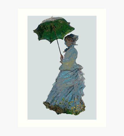 Mme. Monet Art Print