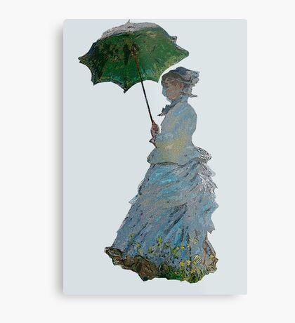 Mme. Monet Metal Print