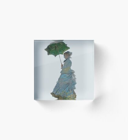 Mme. Monet Acrylic Block