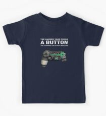 The Harder your press a button the stronger attack would be Gamer myth Kids Tee