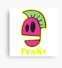 Punky Punk Rock Canvas Print