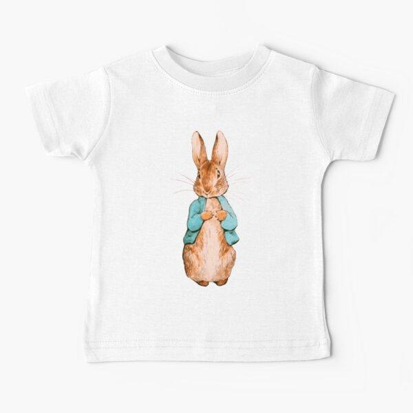 Nursery Characters. Peter Rabbit. Beatrix Potter. Baby T-Shirt