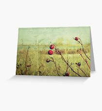 Amongst thorns, we ripen : Featured Work Greeting Card