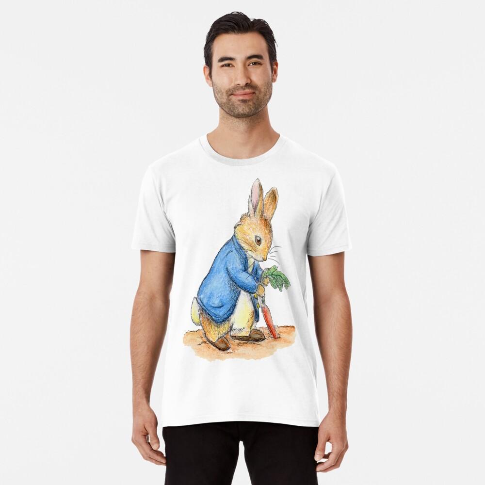 Kindergartenfiguren, Peter Rabbit, Beatrix Potter. Premium T-Shirt