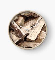 Firewood Clock