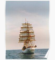 Tall Ship .. The Danmark Poster