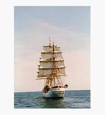 Tall Ship .. The Danmark Photographic Print