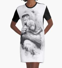 Protected_b&w Graphic T-Shirt Dress
