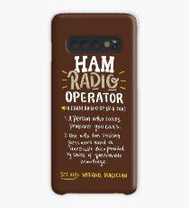 Ham Radio Operator - Ham Radio Gift Hülle & Klebefolie für Samsung Galaxy