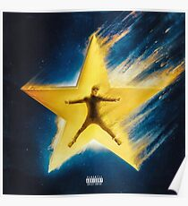 Bazzi cosmic album cover Poster