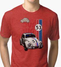 Herbie The Love Bug Tri-blend T-Shirt