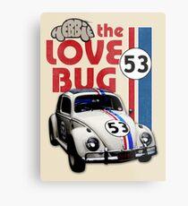 Herbie The Love Bug Metal Print