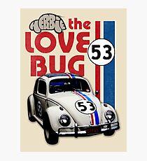 Herbie der Liebesfehler Fotodruck