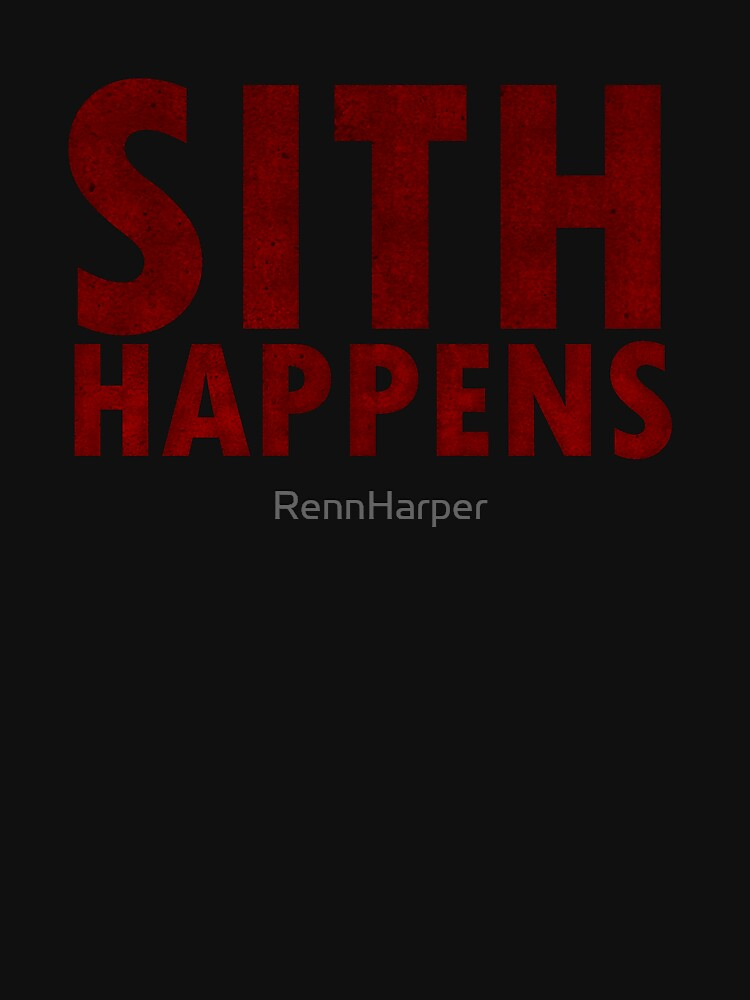 TShirtGifter presents: Sith Happens | Unisex T-Shirt