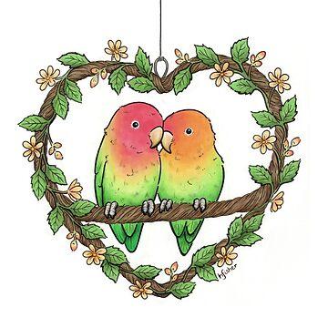 Love Birds by HazelFisher