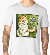 Funny babe And Echo Art Vector Men's Premium T-Shirt