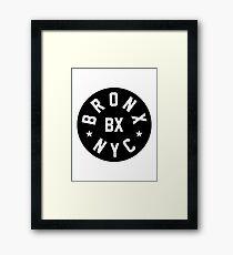 Bronx NYC Framed Print
